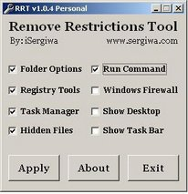 remove restriction tool